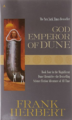 Book's Cover of God Emperor of Dune