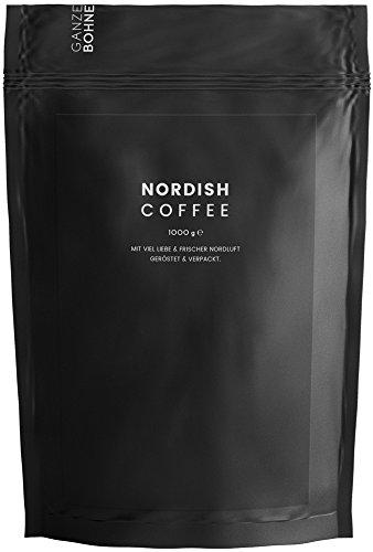 Nordish.Coffee Blackpresso – 1 kg Espresso Bohnen – Premium Espresso Ganze Bohnen – Direkt und...