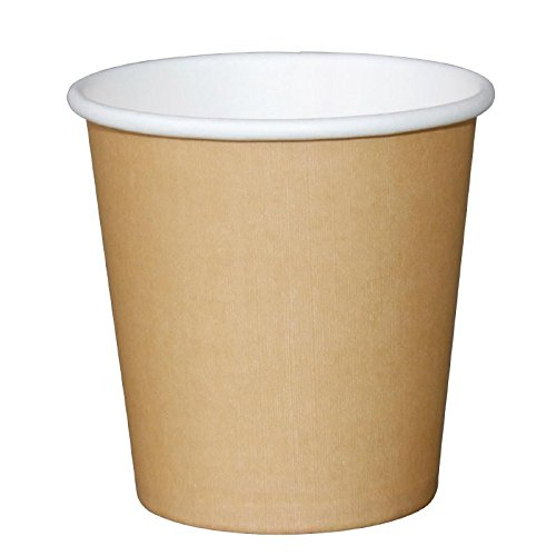 Fiesta GP447 Takeaway Espresso Cup 4 oz., Kraft (Pack of 1000) Test