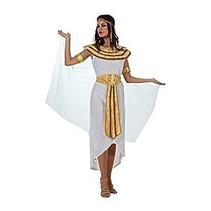 Atosa-49987 Atosa-49987-Disfraz Egipcia-Adulto XXL-Mujer, Color Dorado (49987