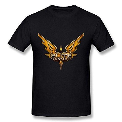 Cornelia Norma Men's Elite Dangerous Logo T-Shirt Medium