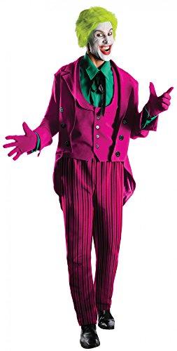 (Batman Joker 1966 Heritage Kostüm für Herren, Größe:XL)