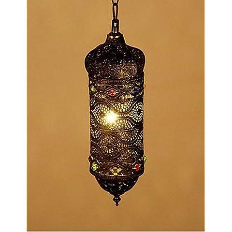 Retrò sudest lato cava lampadario decorativo di apparecchi di illuminazione da soffitto pendente , luci (Lampadario Decorativo Hardware Kit)