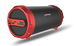 Pebble STORM Bluetooth Speaker - RED