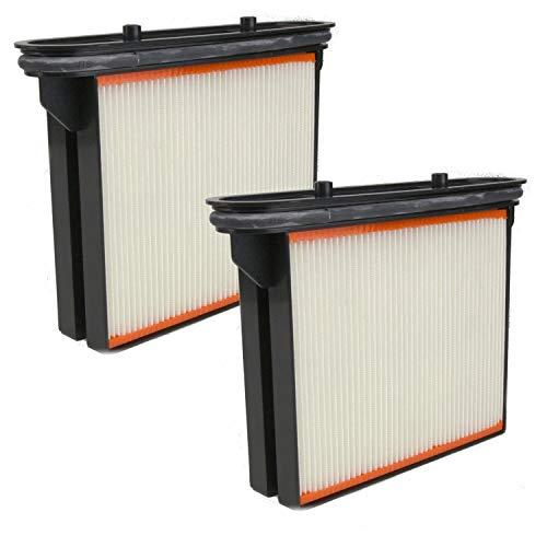 DeClean 2 x Filter Ersatzfilter Feinstaubfilter Faltenkassette Faltenfilter Nassfilter - Ersatzteil für Nass- / Trockensauger von 3M Mobile Absaugsysteme Nr. 64404
