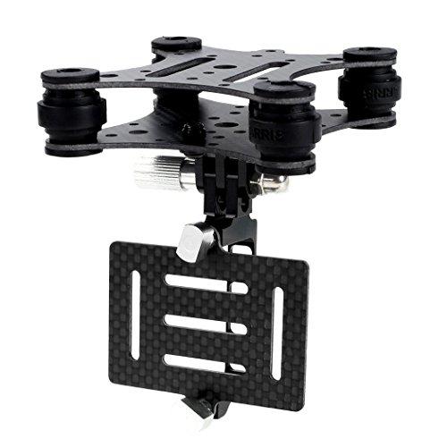 Preisvergleich Produktbild Arshiner Carbonfaser Anti-Vibrations-Kamera Halterung Mount Gimbal für Gopro 3 3+ für Phantom Quadcopter Multicopter usw. FPV Gimbal Kit