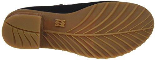 El Naturalista Damen N5100 Ibon Kentia Schuhe mit Vertikalen Streifen Schwarz (Black)