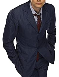 Red Smoke Tenth Doctor Who David Tennant Blue Suit