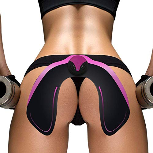 Mrzyzy Elektrostimulation, Muskelstimulator Elektrostimulation EMS trainingsgerät Muskelaufbau und Fettverbrennungn Massage Wearable USB Smart Frauen und Männer Geladen, Indoor