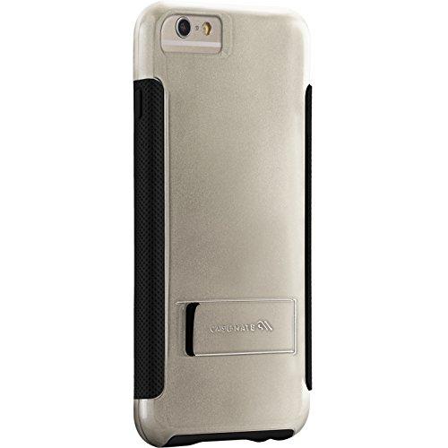 Case-Mate POP Schutzhülle mit stand für Apple iPhone 6 Plus 13,9 cm (5,5 Zoll) schwarz/grau Champagner/Schwarz