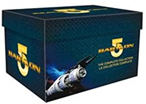 Babylon 5: L'integrale de la saison 1 à 5 - Coffret 5 DVD [Import belge]