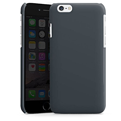 Apple iPhone 4 Housse Étui Silicone Coque Protection Anthracite Gris Gris Cas Premium brillant