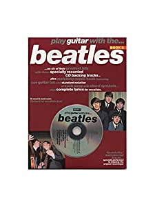Play Guitar With... The Beatles Book 3. Partitions, CD pour Tablature Guitare(Symboles d'Accords)