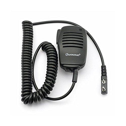 Wouxun - Walkie Talkie e microfono con altoparlante remoto per radio bidirezionale amatoriale KG-UVD1P UV6D UV2D UV3D 699E 818
