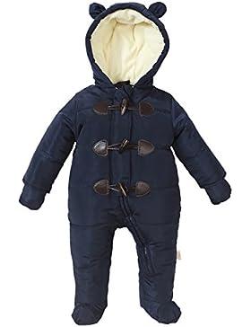 Bebone Baby Schneeanzug Jungen Mädchen Strampler Winter Babybekleidung