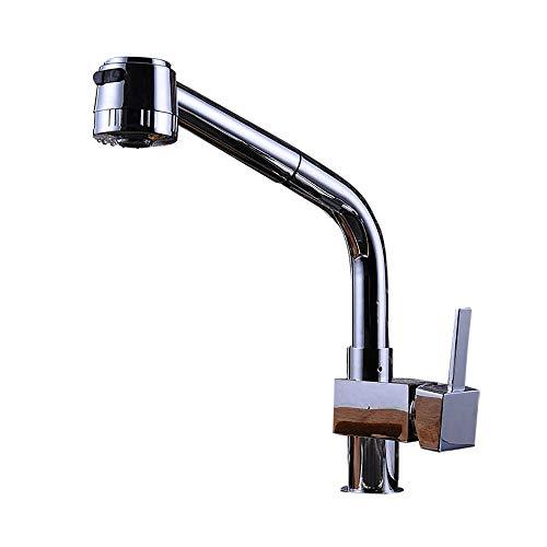 Moderne minimalistische Küchenarmaturen Wasserhahn Küche Wasserhahn Küche mit Schlauch Küche Pull Wasserhahn Waschbecken Wasserhahn Mixer Wasserhahn Küche heißen und kalten Wasserhahn