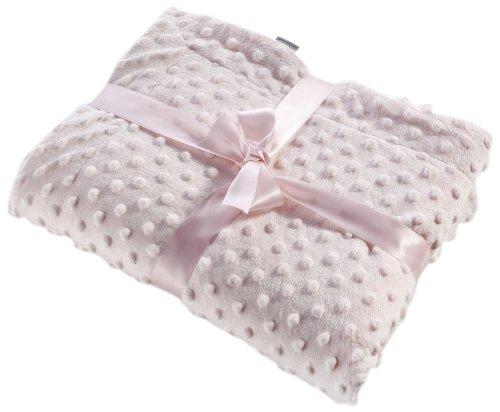 Preisvergleich Produktbild Naf-Naf 30383 Little Dots Decke, 100% Polyester, 80 x 110 cm, rosa