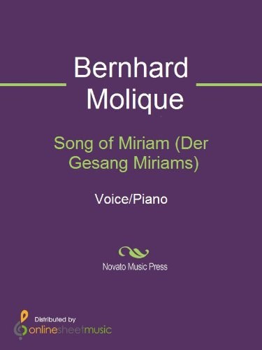 Song of Miriam (Der Gesang Miriams)