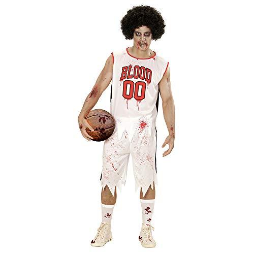 WIDMANN 73363 Erwachsenen Kostüm Zombie Basketballspieler, ()