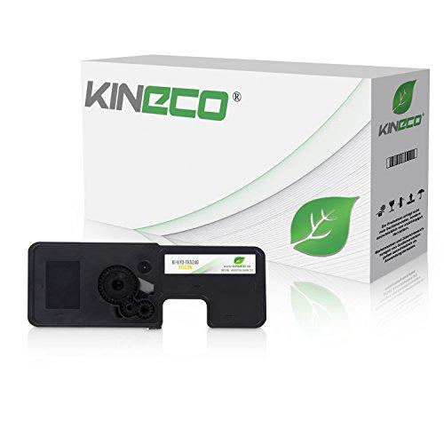 Preisvergleich Produktbild Kineco Toner kompatibel zu Kyocera TK-5240 für Kyocera Ecosys M-5526cdn M-5526cdw P-5026cdn P-5026cdw - Yellow 3.000 Seiten