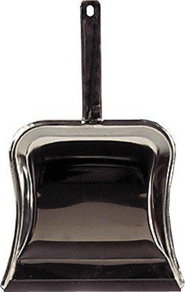 Unimet Kehrschauffel mit Lippe, 1 Stück, schwarz, 400060