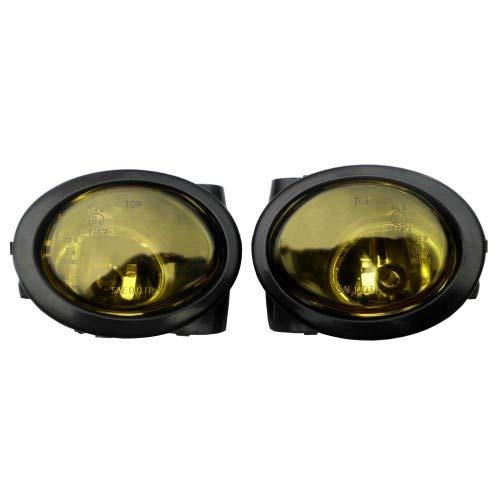 2X Nebelscheinwerfer in Gelb Birnen Links + Rechts für BMW E39 E46 mit M-Paket