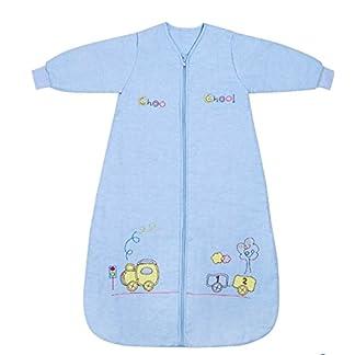Slumbersac Saco de dormir de bebé Invierno manga larga aprox. 2.5 Tog, trenecito, de- 0-6 meses