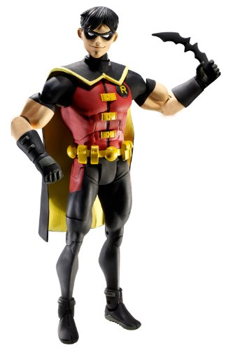 DC UNIVERSE YOUNG JUSTICE ROBIN 6-INCH ACTIONFIGUR (Justice Young Robin)