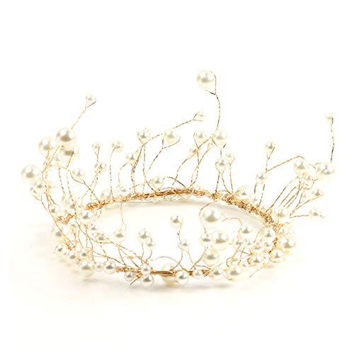 l Crown Geburtstags-Kuchen wählt Hochzeitstorte Dekoration-Partei-Verzierung Dessert Top Ornament ()
