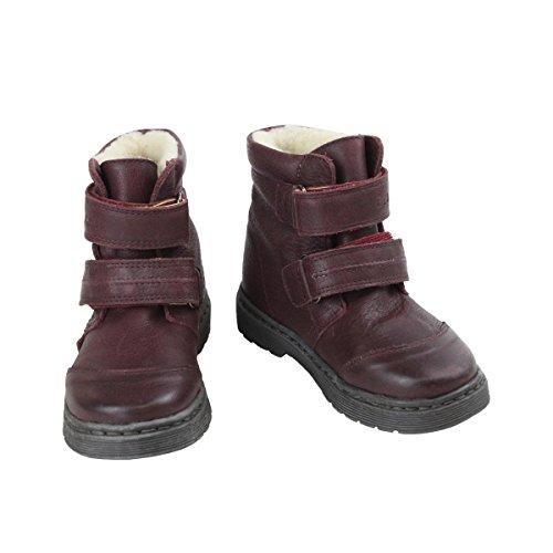 02 Halbschuhe (Enfant Mädchen Baby- und Kinder Winterstiefel, Weinrot, Gefüttert, Tex, Boots Star Purple, 815107-02, Gr. 31)