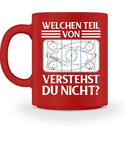 Shirtee Welchen Teil von Eishockey ? - Tasse
