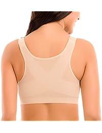 Delimira - Sujetador Corrector de Postura con Soporte de Espalda en X para Mujer