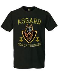 Asgard T-Shirt Wikinger,Odin,Thor,Mjölnir,Krieger,Germanen