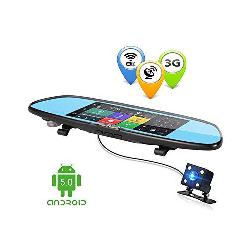 ANSTAR Android 3g Dual Lens Auto DVR Spiegel Kamera 7,0 Zoll GPS Full HD 1080 P DVRs Bluetooth Wifi Dash Cam Video Recorder Dashcam