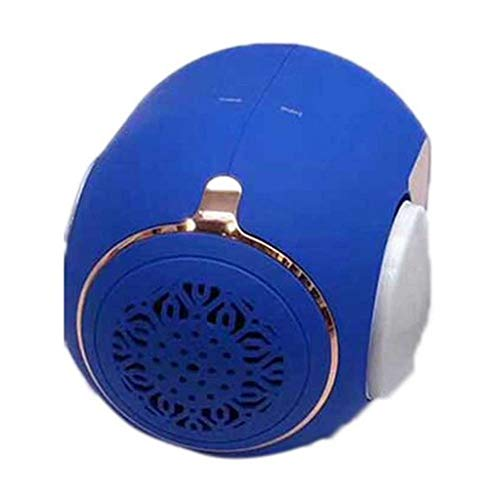 YLACH Bluetooth-Lautsprecher New Golden Eggs Wireless Bluetooth Speakers Super Strong Subwoofer Mini Portable Bluetooth Speakers Gift for Phone,Blue