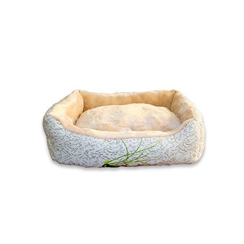 YNZYOG Kennel Chat Litière Teddy Lavable Pet Litière D'hiver Chaud Coton Nid Petite Race Chien Fournitures Pad Dog Four Seasons Universal (taille : Xl)