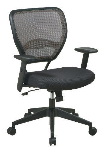 space-seating-airgrid-latte-back-and-padded-padded-mesh-seat-2-to-1-synchro-tilt-control-adjustable-