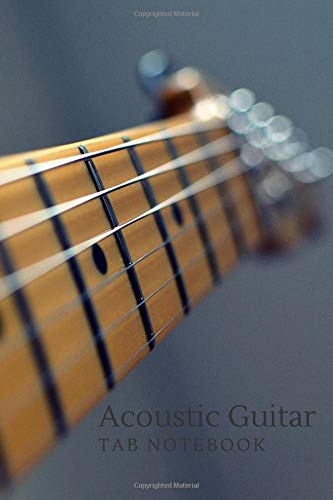 Acoustic Guitar Notebook: Blank 6 Line Stave Tab and Chord Chart Journal with Beginners Reference Chord Chart (Chart Chord Guitar Acoustic)