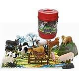 Nu look ipi - Cubo animales granja 22 piezas