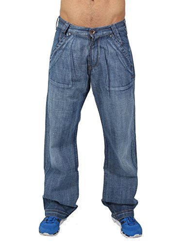 Energie -  Jeans  - Basic - Uomo blu W30