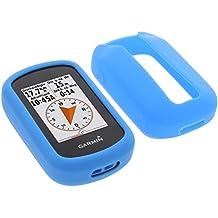 foto-kontor Funda para Garmin eTrex Touch 25 eTrex Touch 35 Protectora Silicona Carcasa protección Azul