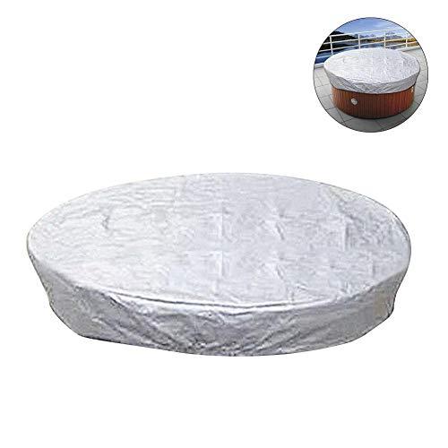 Lemby - Cubierta para bañera de hidromasaje para Exteriores, Impermeable, Resistente a los Rayos UV y a la Intemperie, a...