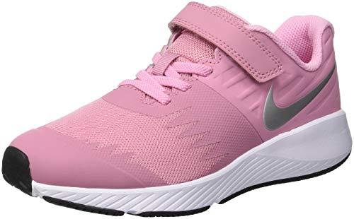 Nike Star Runner (PSV), Zapatillas de Running para Niños, Rosa (Elemental Pink/Metallic Silver 601), 33 EU