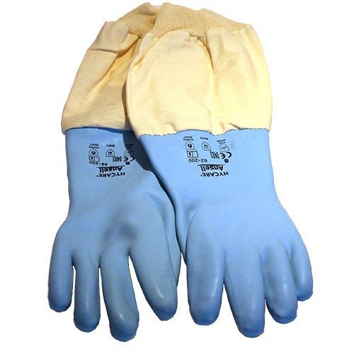 Germerott Bienentechnik Imker-Schutzhandschuhe aus Gummi Größe 9 für Sicheres Arbeiten an Den Bienen - Gummi Aus Garten-handschuhe