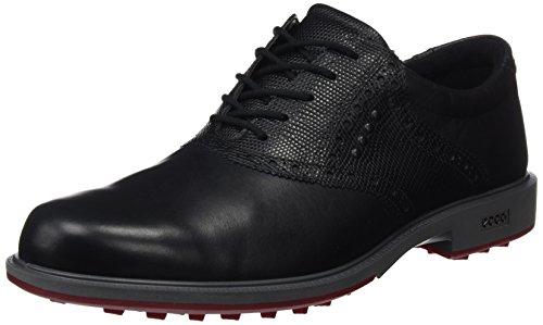 Ecco eccoecco Mens Tour Golf Hybrid Herren Golf-Schuhe 43 Schwarz (Tour Schuh Golf)