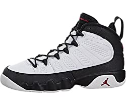 Nike Air Jordan 9 Retro BG Black & White Space Jam LTD RARITY Basketball Shoes Sneaker black/white, EU Shoe Size: EUR 37. 5, Color: black/white
