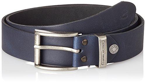 Camel Active Herren Gürtel 402660/9B66 Blau (Blue 40), 90 (Herstellergröße: M)