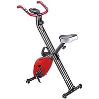 Preisvergleich für Zhangcaiyun Indoor-Fahrrad Mini Heimtrainer Fitnessgeräte Home Ultra-leise Zwei-Wege-Folding Magnetic Control Spinning Fahrrad Fahrradtrainer