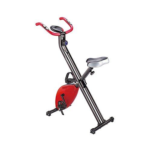 Bici da bicicletta aerobica attrezzi per il fitness da mini cyclette home bicicletta da spinning pieghevole a controllo a due vie ultra-silenzioso bici da ginnastica interna
