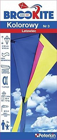 Brookite 3454Traditionelle Cutter Nr. 3Kite (Anfänger Single Line Kite)